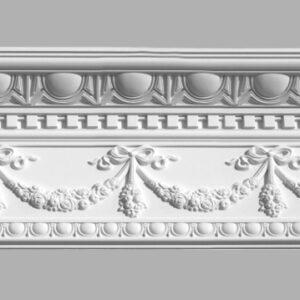 Плинтус потолочный с рисунком DECOMASTER 95142